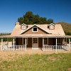 PeeWee Farmhouse - Southwest View - Grassy Yard